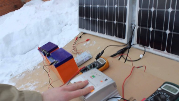 Солнечный контроллер