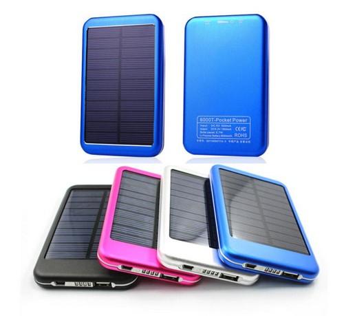 Рower bank на солнечных батареях