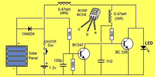 Схема китайского светильника