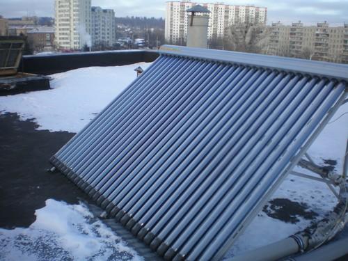 Гелиосистемы для отопления и горячего водоснабжения жилого дома