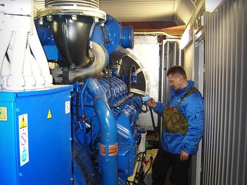 Техническое обслуживание дизельных электростанций