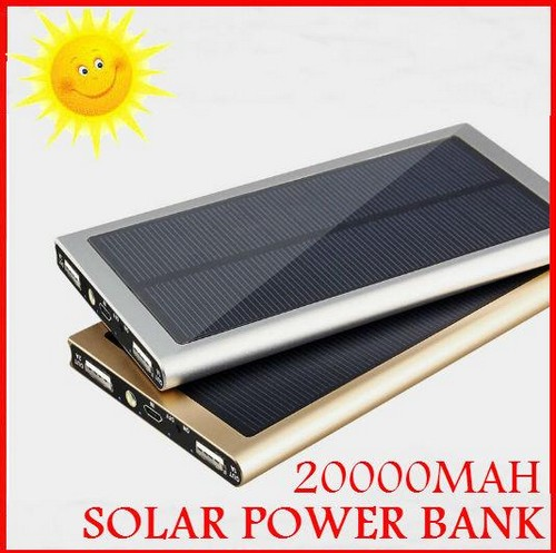 Solar power bank 20000 mah
