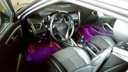 Светодиодная лента в машине