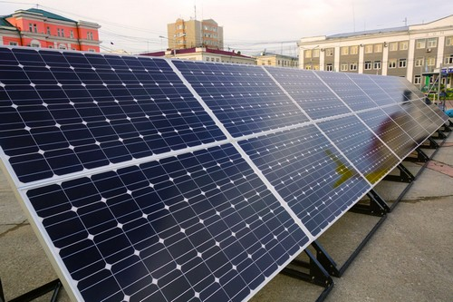 Солнечные батареи в Украине
