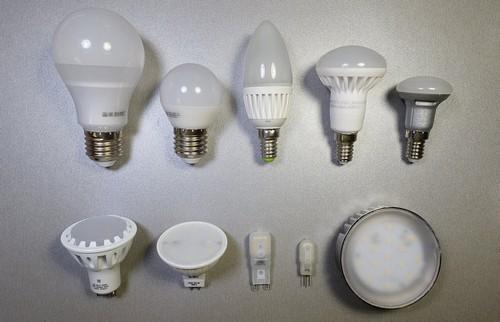 Разновидности цоколей ламп