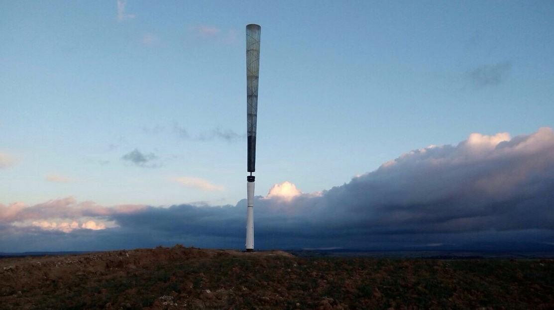 • ветряная турбина без лопастей