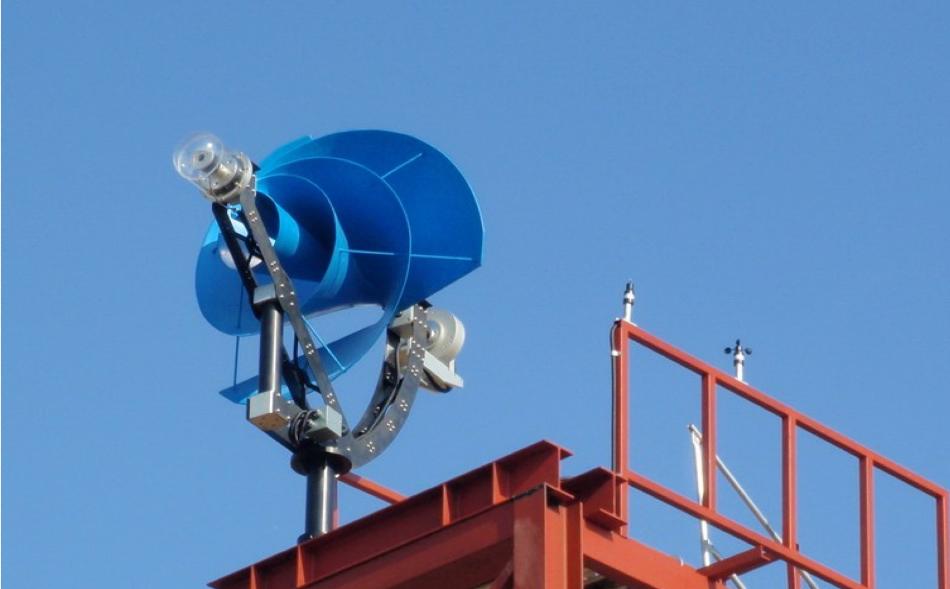 ветряная турбина для крыши