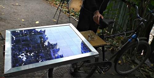 Солнечная панель на багажнике
