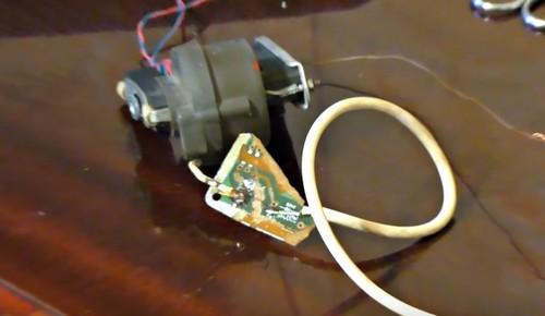 ТВС 110 ЛК и разрядник