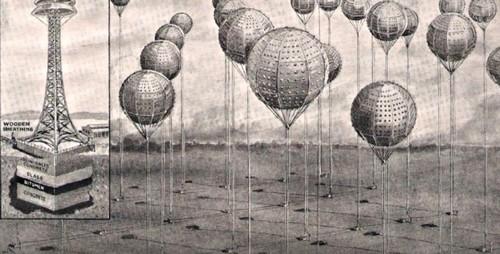 воздушные шары из алюминиевых листов