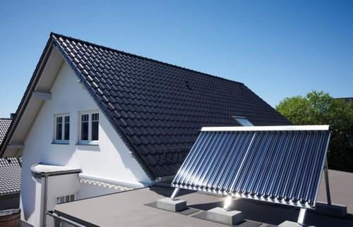 Размещение солнечного коллектора