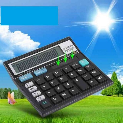 Питание солнечного калькулятора