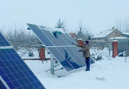 Использование трекеров для солнечных панелей