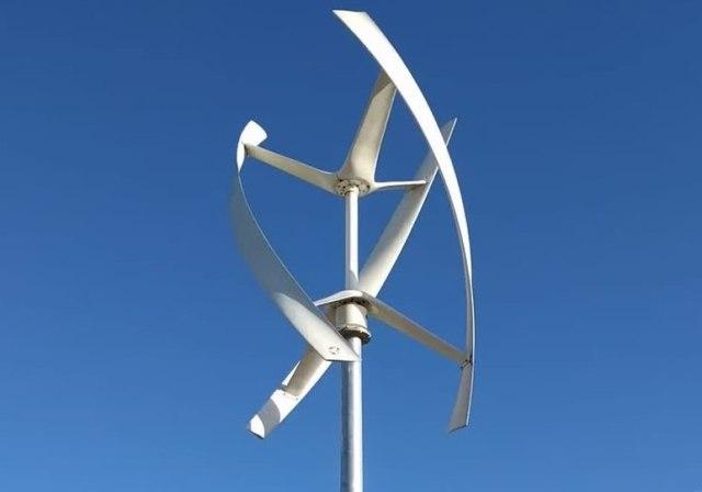 Спиральный ротор Дарье