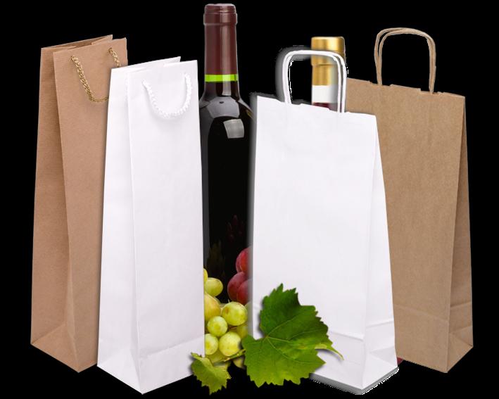 бумажные пакеты для вина