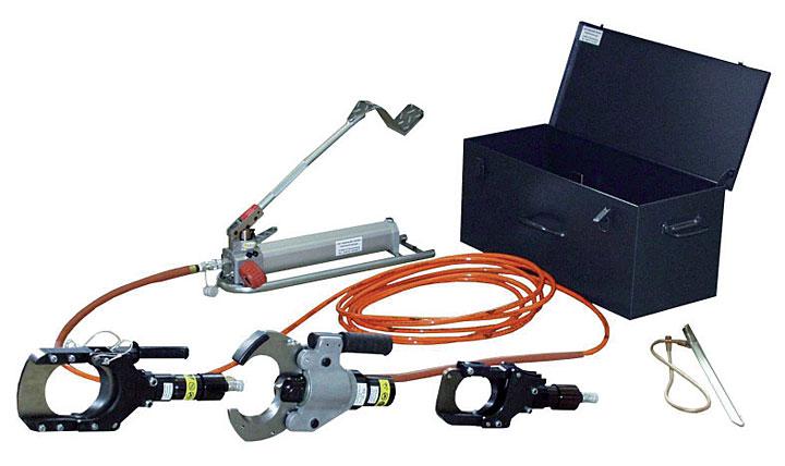 гидравлический инструмент для резки кабеля