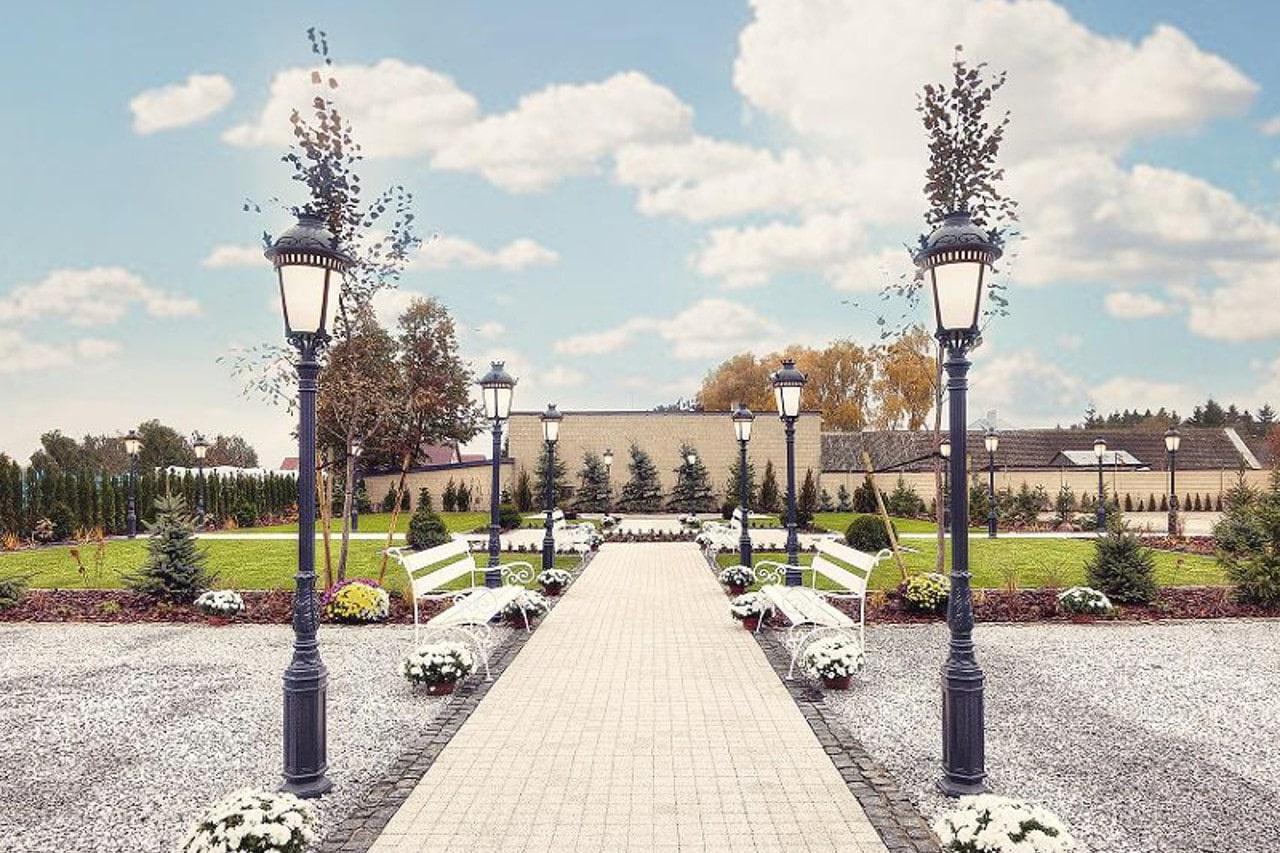 Уличные и парковые фонари