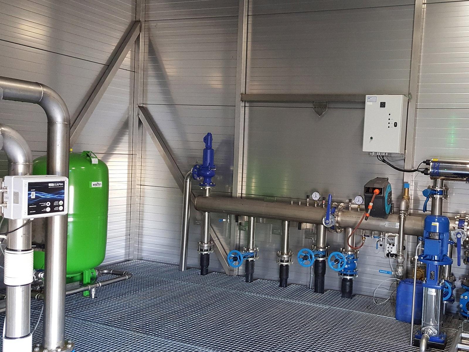 станции промышленной водоочистки