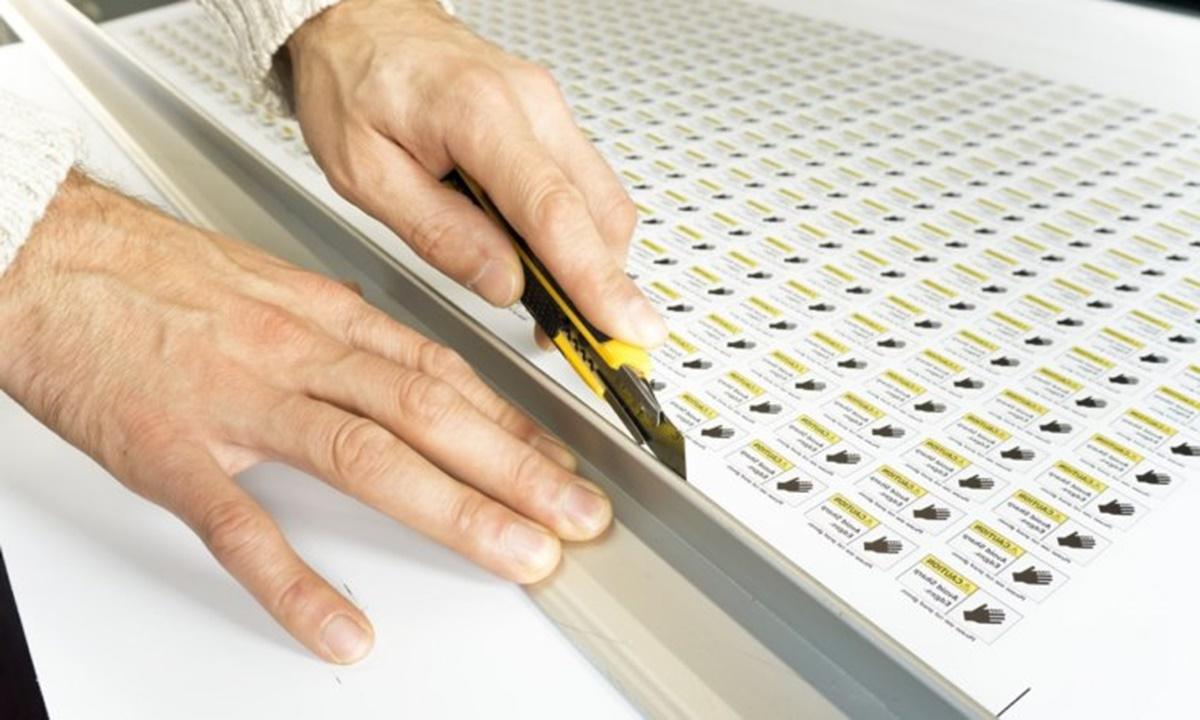 этикетки товара печать